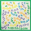 CHILDRENS NUMBERS HANDKERCHIEFS